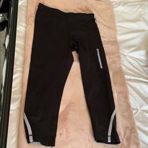 Cropped Lululemon Leggings black